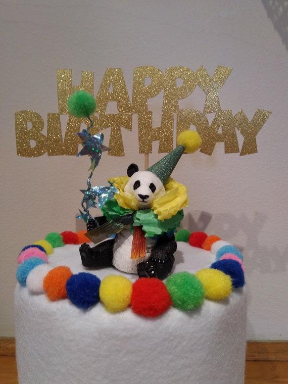 Peachy Happy Birthday Cake Topper Kids Birthday Cake Decoration Etsy Birthday Cards Printable Trancafe Filternl