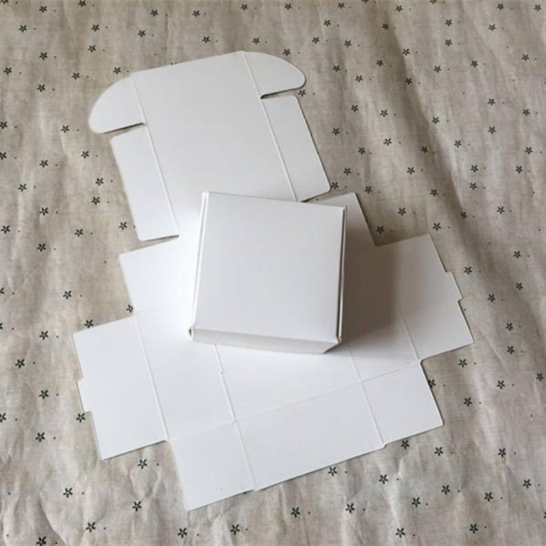 0e86ab6fc89 50 pieces 8.58.53.5cm Kraft Paper Gift Box Craft Handmade