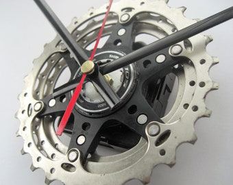 Shimano 105 11 Speed Time Shift Wall Clock Bicycle Cassette Sprocket, great gift for any road cyclist!