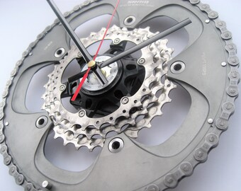 SRAM Powerglide Time Shift Wall Clock Chainring Cassette Chain Sprocket,  great gift for the triathlete in your life!
