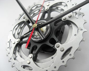 Shimano XT/SLX Time Shift Wall Clock Bicycle Cassette Sprocket, great gift for the cyclist in you life!