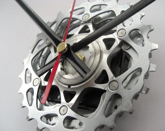 SRAM Time Shift Wall Clock Bicycle Cassette Sprocket, great gift for any road cyclist!