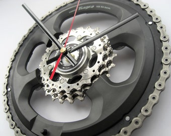 Shimano Tiagra Time Shift Wall Clock Chainring Cassette Chain Sprocket, great gift for any road cyclist!