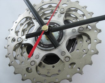 Shimano 105 Time Shift Wall Clock Bicycle Cassette Sprocket,  great present for any cycle touring rider!