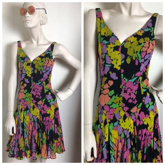 1930s style drop waist dress // vintage 30s 40s 50
