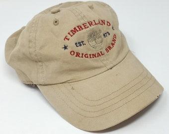 5889626d184 TIMBERLAND Weathergear Khaki Baseball Hat