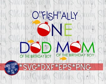 """O""""fish""""ally One Bundle SvG DxF EpS PnG. O""""FISH""""ally One SvG 