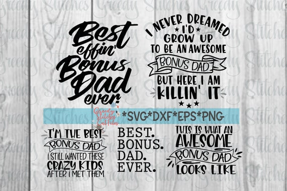 Father S Day Bonus Dad Svg Bundle Father S Day Svg Etsy