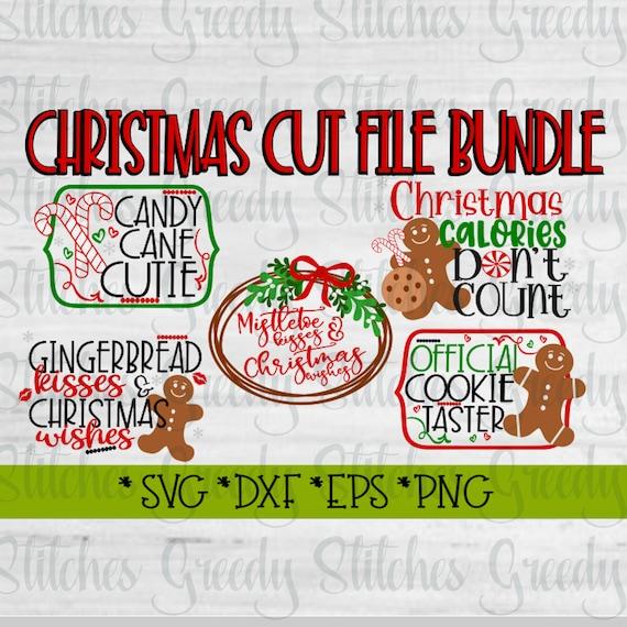 Christmas Svg Bundle Svg Dxf Eps Png Christmas Svg Svg Etsy