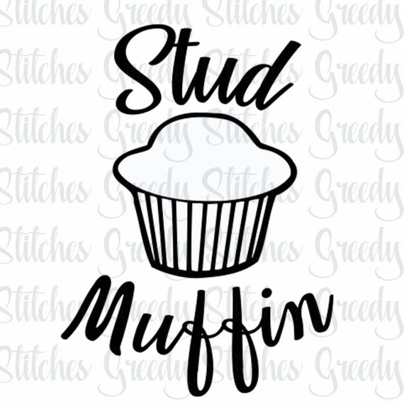 stud muffin svg eps dxf etsy English Muffin Sandwich stud muffin svg eps dxf