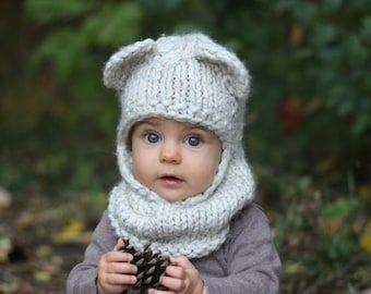 KNITTING PATTERN with crochet detailing - The Berkley Balaclava af71840563e