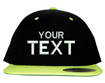 b1b68c968d696 24 Custom Embroidered Yupoong Classic Snapback Hats Caps With