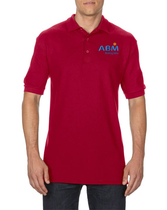 Men S Custom Embroidered Polo Shirt Customized Logo Polo Etsy