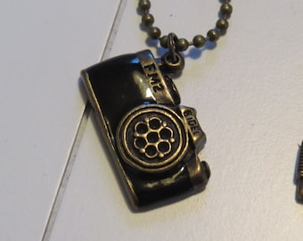 Antique Camera pendant necklace One of a Kind