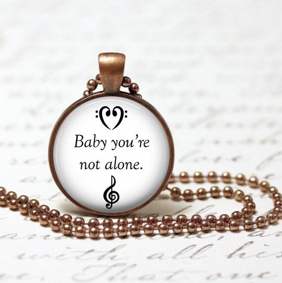 You are not alone lyrics darren criss dating