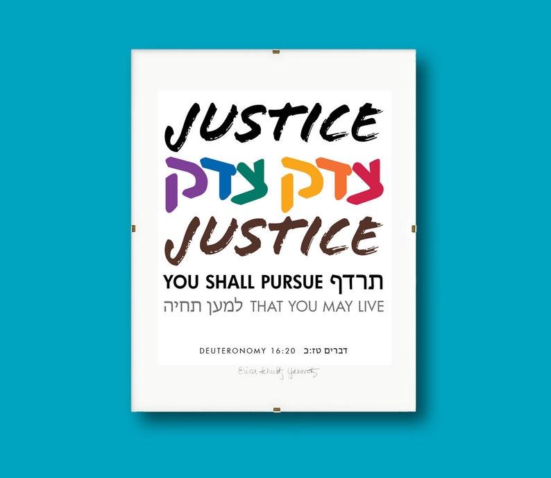 Justice Justice I  8x10 Print image 0