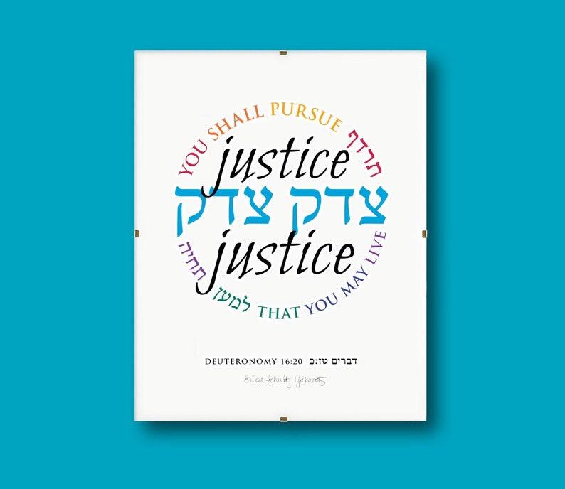 Justice Justice II  8x10 Print 8x10 clip frame