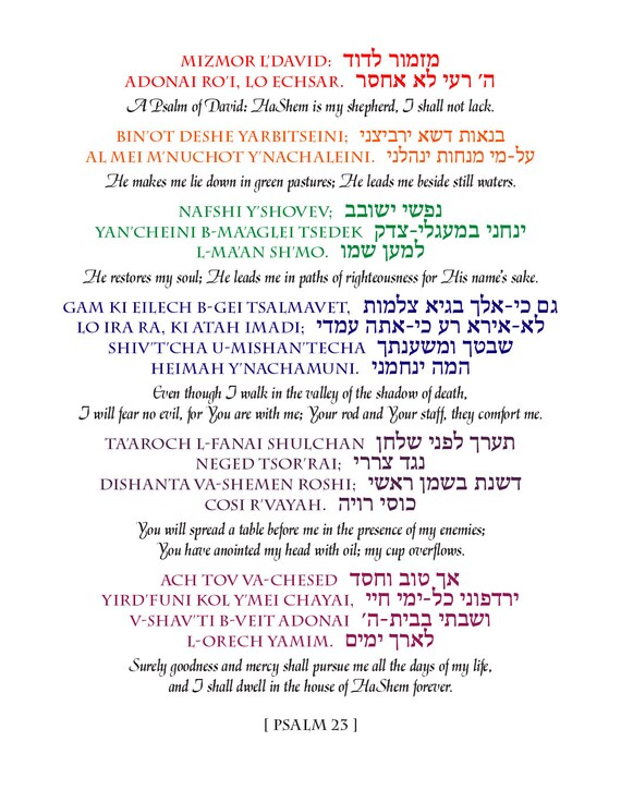 It's just a photo of Psalm 23 Printable with regard to faith