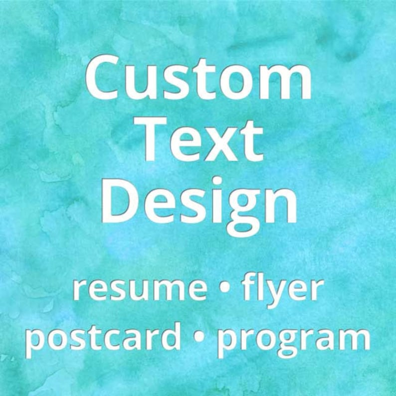 Custom Text Design image 0