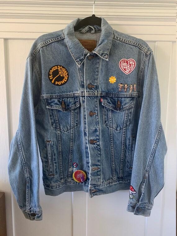 Groovy 90s Levi's denim jacket