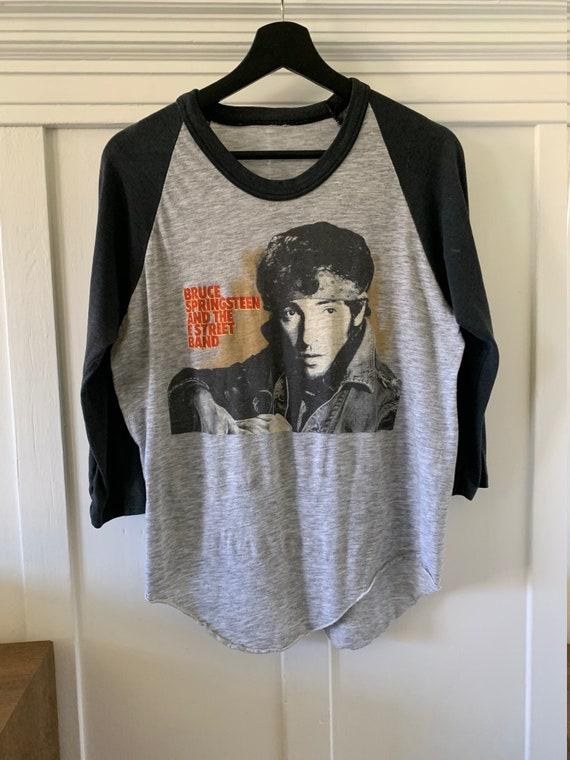 80s Bruce Springsteen concert tshirt