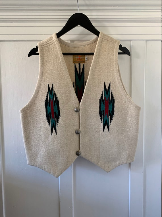 70s Chimayo vest