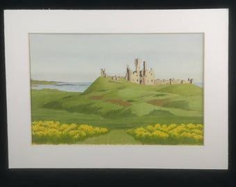 Dunstanburgh Castle by G H Hutchinson