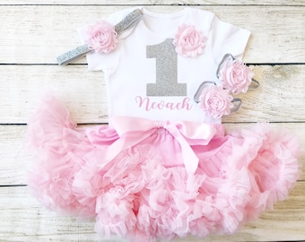 244efb17f03348 Personalised First Birthday Outfit