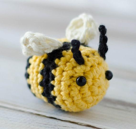 Bee Amigurumi Pattern Crochet Pattern Bumble Bee Amigurumi Etsy