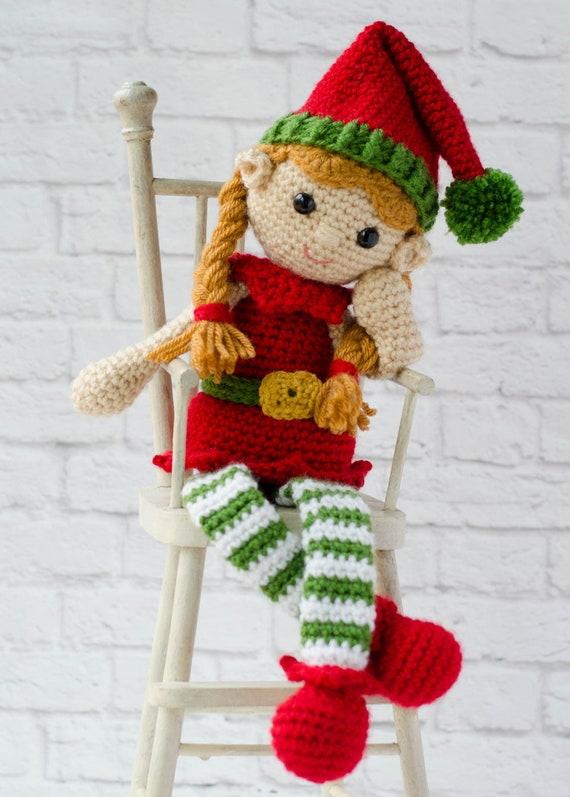 Santa's Helper Free Crochet Elf Hat Pattern (With Ears!) | Crochet ... | 797x570