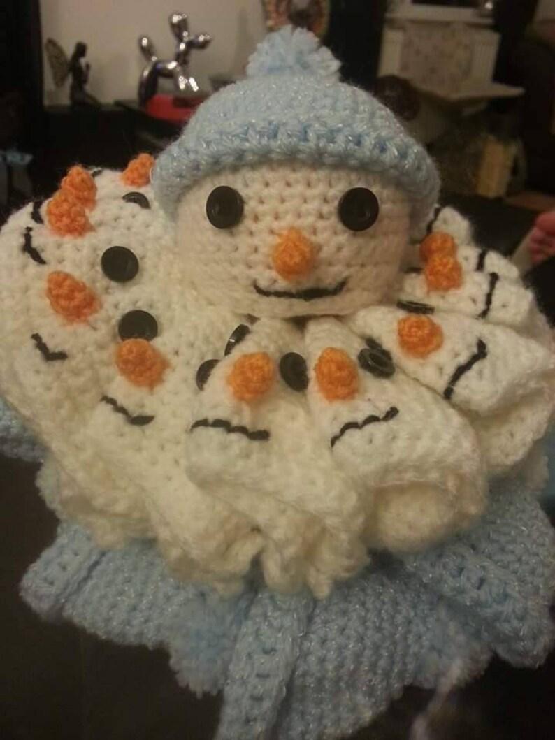 Chocolate Orange Snowman Crochet Pattern  00480ec279f