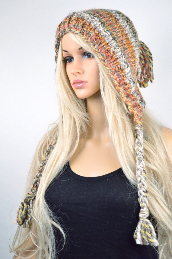 6b0e9932ae1 Hat Knit hat Chullo Ear Flap Hat Winter Hat Tassel Hat