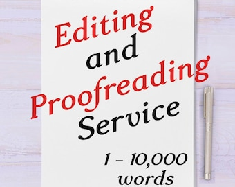 Proofreading | Etsy