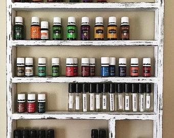 Essential oil shelf, essential oil display, oil storage, oil rack, wood shelf, hanging shelf, nail polish shelf, nail polish holder, gift