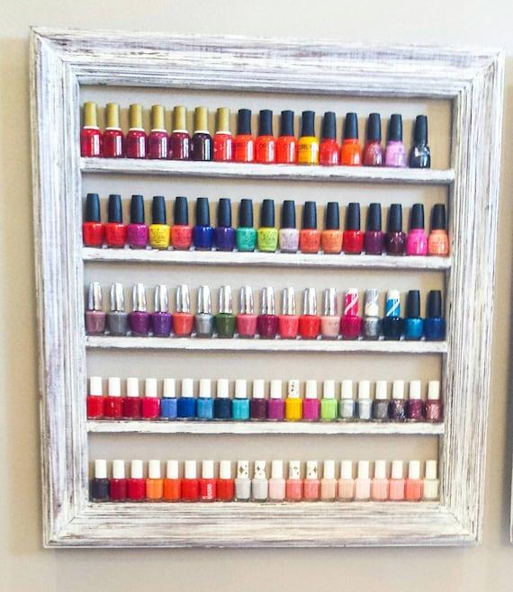 Nail polish rack nail polish organizer Nail polish shelf ...