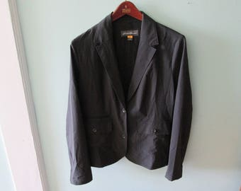 Vintage Black Jacket Size Large