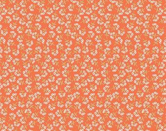 Sweet Floret Peach fabric from Open Heart by AGF Studio (Art Gallery Fabrics)