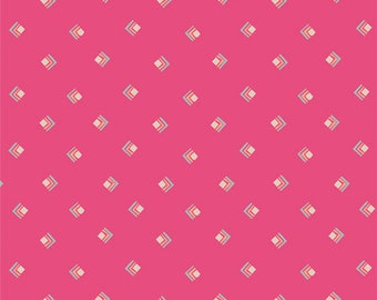 Everlasting Tokens Pink fabric from Open Heart by AGF Studio (Art Gallery Fabrics)