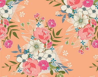 Flowering Hope fabric from Open Heart by AGF Studio (Art Gallery Fabrics)