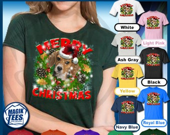 Merry Christmas Beagle T-Shirt