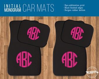 Universal fit PERSONALISED Company Advertising car mats Daughter Christmas gift
