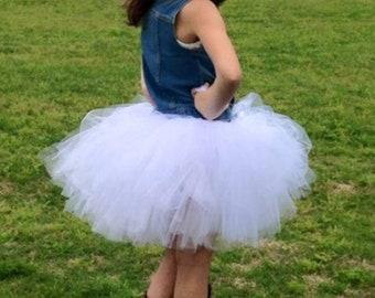 Tulle Skirt - Custom Made - Tutu - Child Tutu - Baby Tutu - Adult Tutu - Photo prop