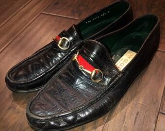 bf991b0da64 Men s Vintage Black Bit Gucci Loafers