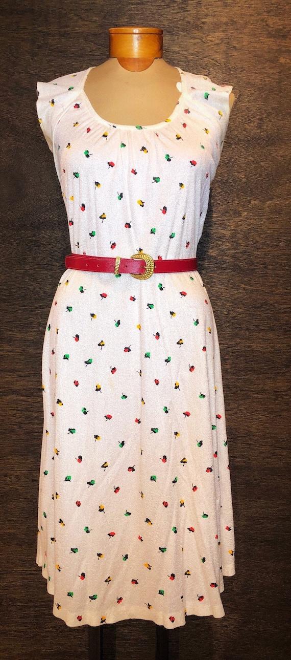 Darling Vintage Terrycloth Dress
