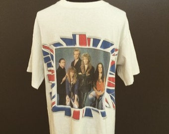 """Vintage Def Leppard """"The Seven Day Weekend Tour"""" Tshirt. Size: Large"""