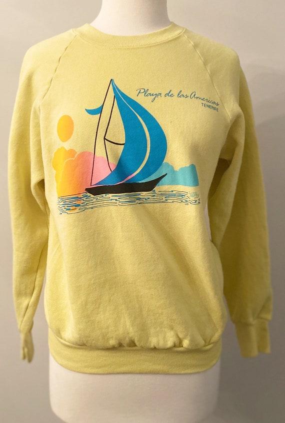 Vintage 80's Playa De Las Americas Sweatshirt