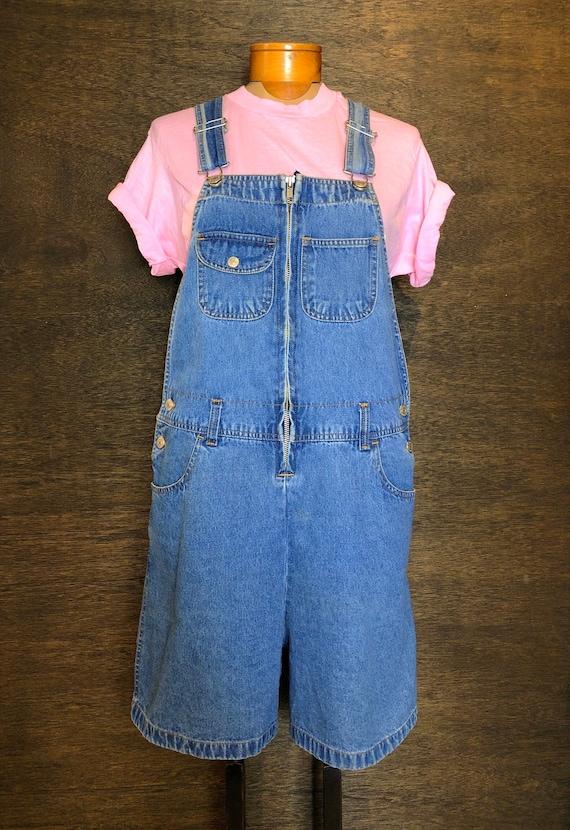 Vintage Jordache Denim Shortalls