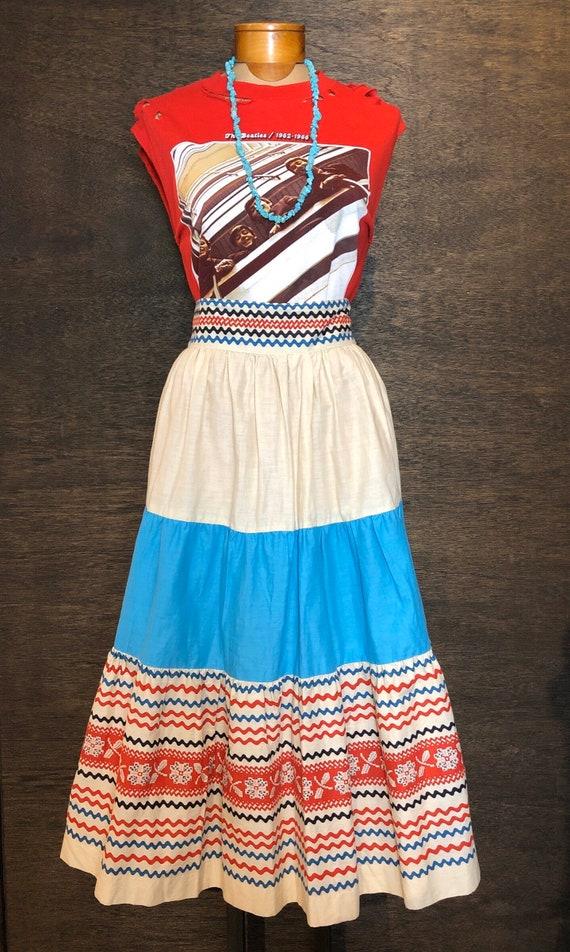 Gorgeous Deadstock Seniorita Fiesta Skirt