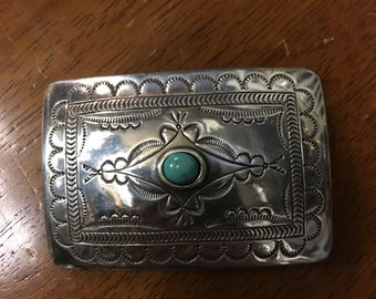 Vintage Southwestern  Belt Buckle