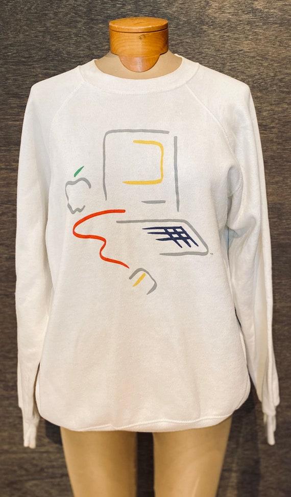 "Authentic Vintage Apple Macintosh Sweatshirt ""Pica"